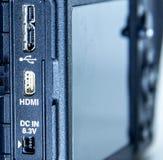 微型HDMI 免版税库存图片