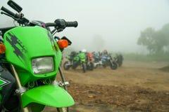 微型motorcross 库存照片