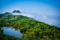 微型Nakki湖莫乌恩特阿布拉贾斯坦 图库摄影