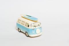 微型van toy 库存图片