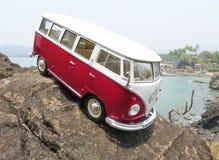 微型VW Bulli 1962年 免版税图库摄影