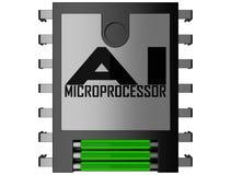 微处理器 免版税库存照片