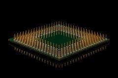 微处理器 图库摄影