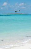 微小的海岛 免版税库存照片