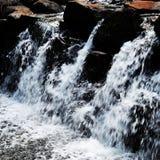 微小的瀑布 库存图片
