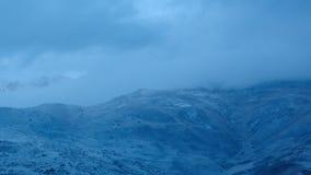 微明的高加索山脉 股票录像