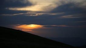 微明阴云密布 库存图片