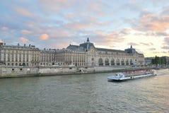巴黎微明 免版税库存图片