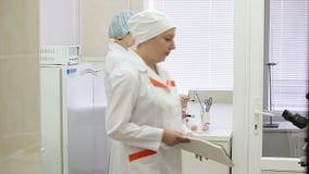 微生物学实验室,研究材料  股票录像