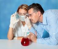 微生物学 库存照片