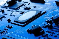 微电子学 库存照片