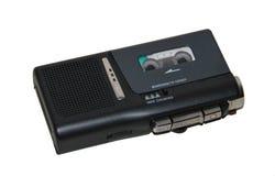 微盒式磁带记录器 免版税库存照片