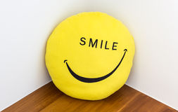 微笑和幸福概念 免版税库存图片