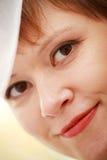 微笑女孩 免版税库存照片