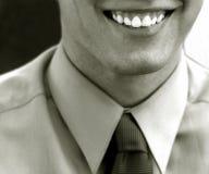 微笑成功 免版税图库摄影