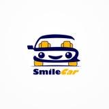 微笑汽车 皇族释放例证