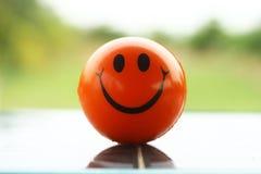 微笑球 库存图片