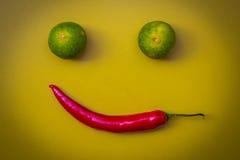 微笑甜点 库存图片