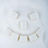 微笑甜点 免版税库存图片