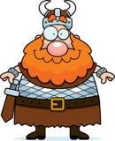 微笑的北欧海盗 免版税库存照片