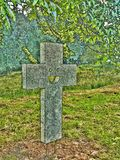 微笑的十字架 免版税库存图片