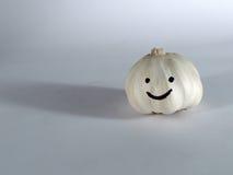 微笑的大蒜 免版税图库摄影