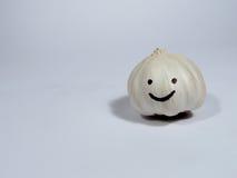 微笑的大蒜 图库摄影