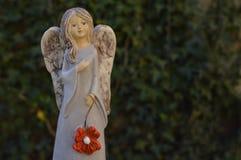微笑的天使 免版税库存图片