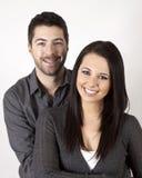 微笑的夫妇 图库摄影