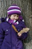 微笑的女孩 免版税图库摄影