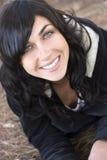 微笑的妇女 免版税库存照片