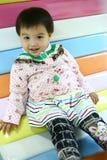 微笑的婴孩 免版税图库摄影