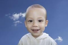 微笑的孩子 免版税图库摄影