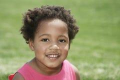 微笑的小孩 库存图片