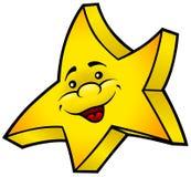 微笑的星形 图库摄影