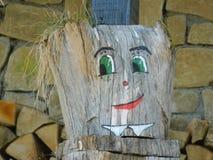 微笑的树桩 免版税图库摄影