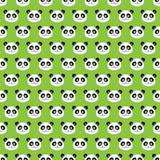 微笑的熊猫 图库摄影