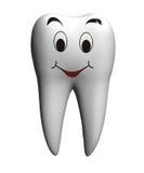 微笑的牙 免版税库存图片