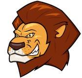 微笑的狮子头 免版税图库摄影