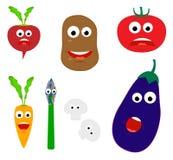 微笑的蔬菜 免版税库存图片