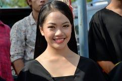 微笑的马来西亚女孩 库存照片