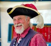 微笑的1700水手和贸易商 图库摄影