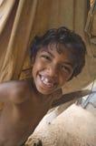 微笑的巴西男孩 图库摄影