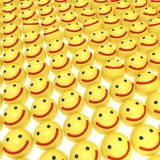 微笑背景 免版税库存图片