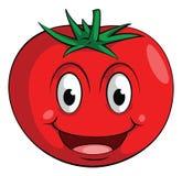 微笑蕃茄 皇族释放例证