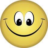 微笑表面 库存图片