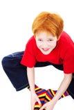 微笑青少年 免版税图库摄影
