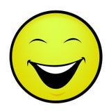 微笑 库存例证