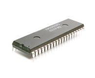 微芯片 库存图片