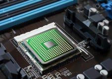 微芯片 免版税库存图片